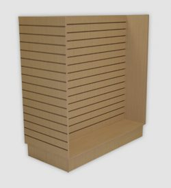 Slatwall 4ft H Unit